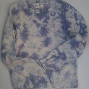 Girls tie dye sweater